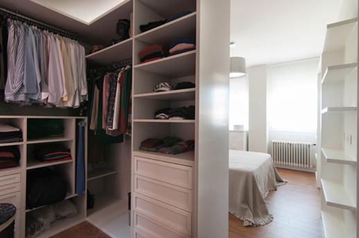Reforma de lujo-Vivienda-Arquitectos-Madrid-Vestidor integrado