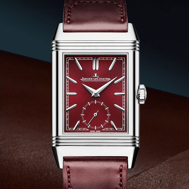 Jaeger-LeCoultre Reverso Tribute Small Seconds Wine-Red Dial ref. 397846J