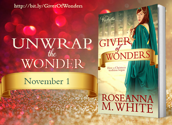 https://www.amazon.com/Giver-Wonders-Roseanna-M-White/dp/1939023831/ref=sr_1_1?s=books&ie=UTF8&qid=1476869810&sr=1-1&keywords=giver+of+wonders