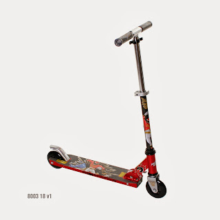 Enter to win the POWER RANGERS MEGAFORCE Aluminum Scooter. Giveaway ends 12/21.