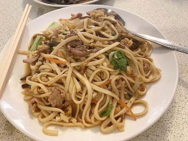 木須肉炒麺という麺料理