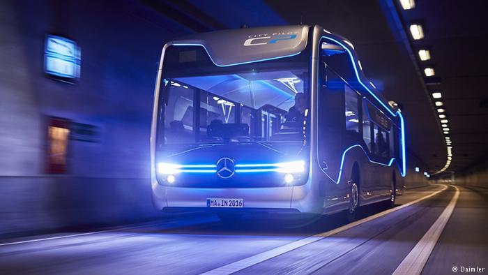 Terwujudnya Bus cerdas tanpa supir dan lebih aman