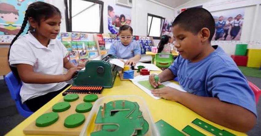 MINEDU inicia ciclo de capacitaciones sobre atención a estudiantes con discapacidad visual