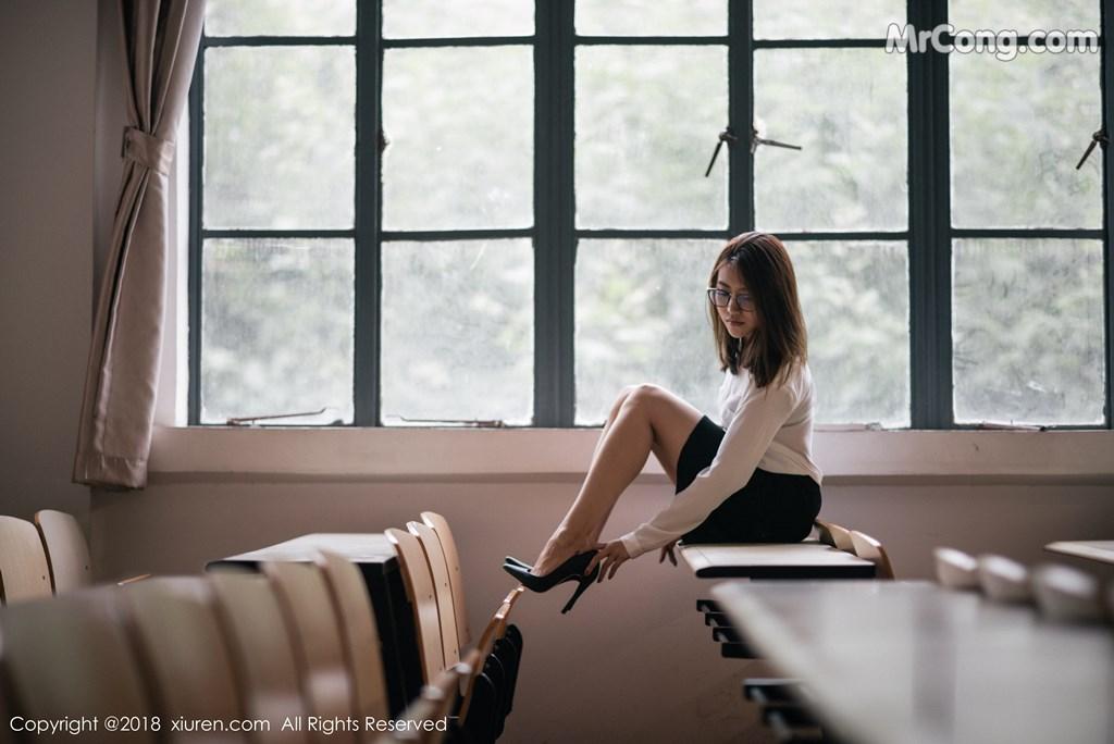 Image XIUREN-No.1267-Sabrina-Xu-Nuo-MrCong.com-001 in post XIUREN No.1267: Người mẫu Sabrina (许诺) (45 ảnh)