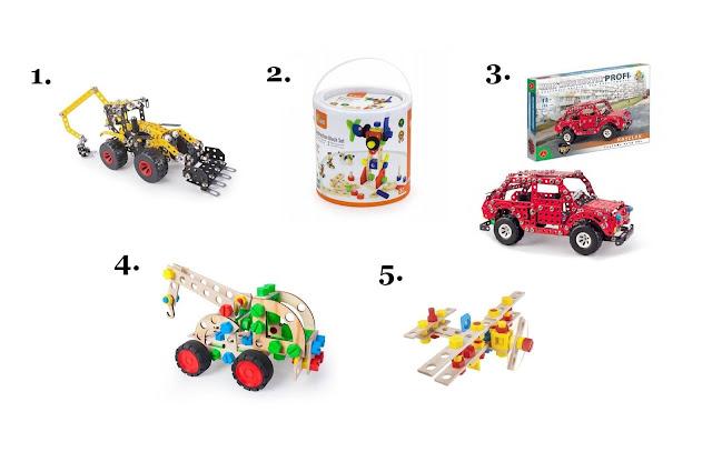 klocki konstrukcyjne - mały konstruktor - klocki do skręcania - jakie klocki dla dziecka - prezent na Mikołajki dla dziecka - hancia.pl - zabawki dla dzieci online