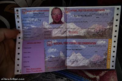 Annapurna special access permit, mountains Upper Marsyangdi river whitewater, kayak WhereIsBaer.com Chris Baer