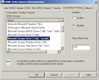 ODBC Data Source Alternatif