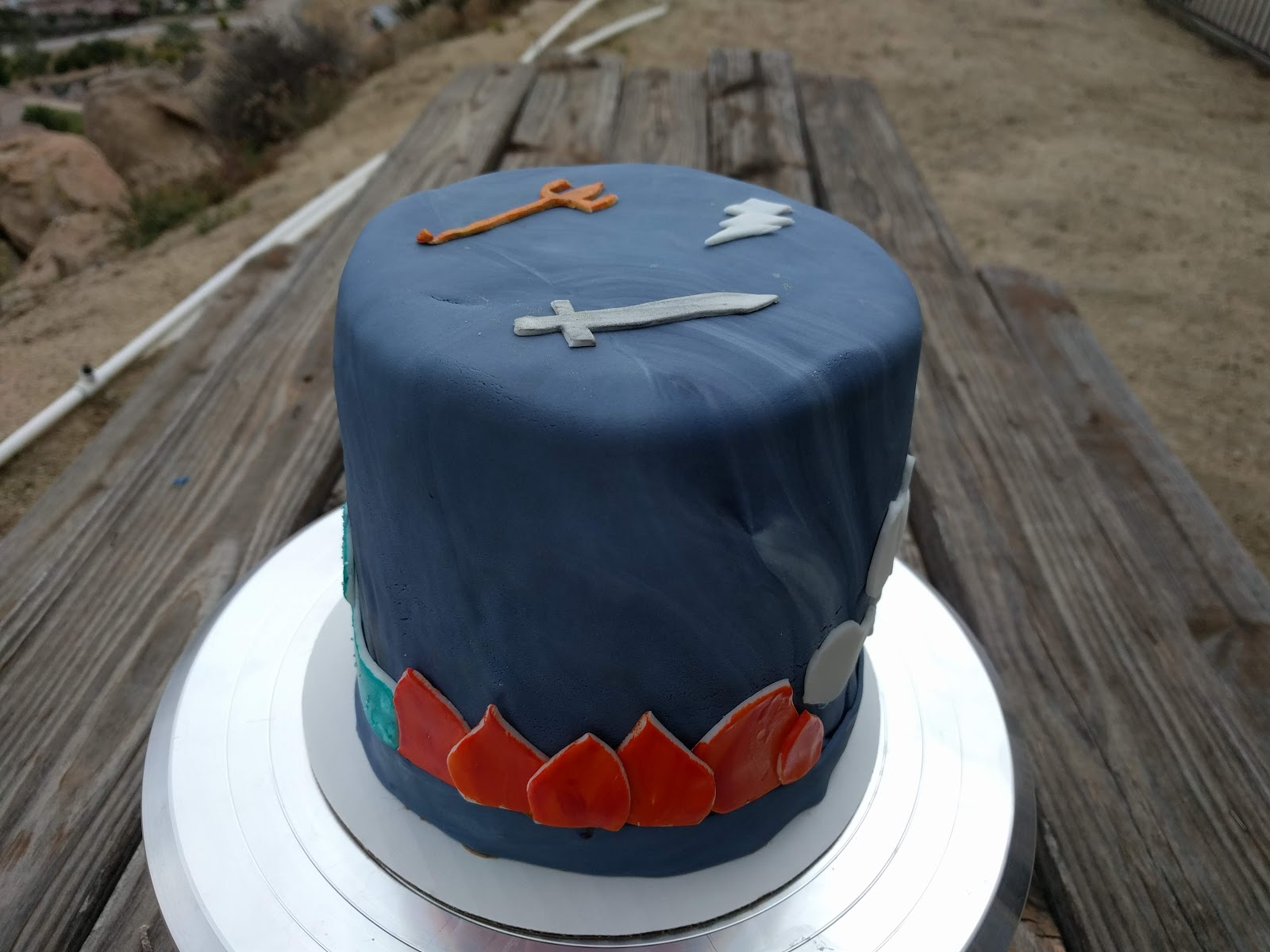 Percy Jackson Inspired Birthday Cake What The Dog Ate