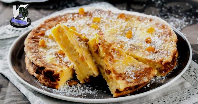 Tarta Flan de Coco y Manzana