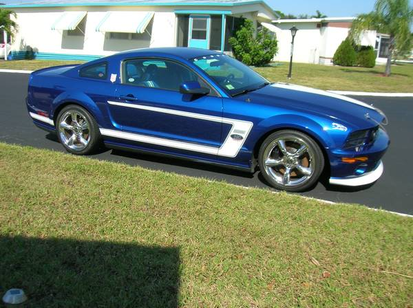 2008 ford mustang saleen dan gurney edition for sale muscle car monday. Black Bedroom Furniture Sets. Home Design Ideas