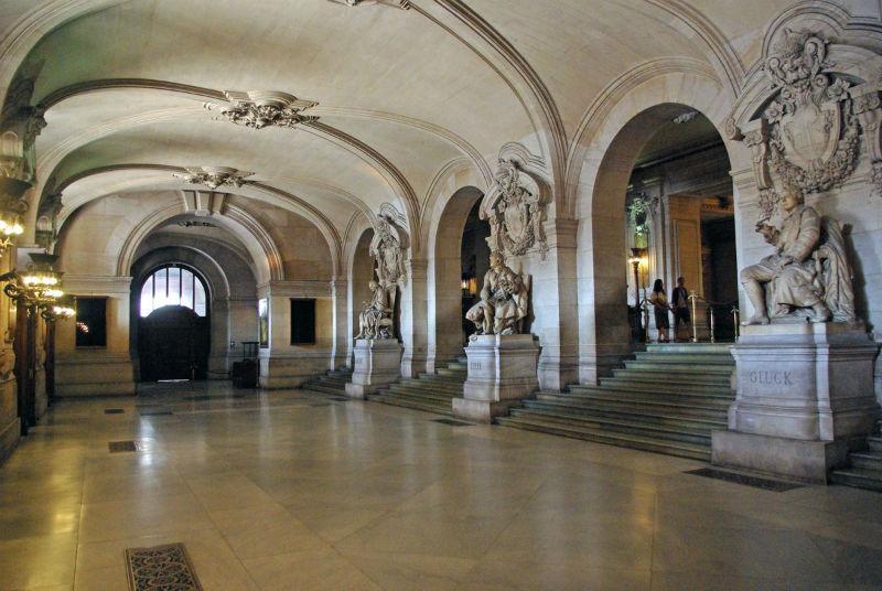 Gran Vestíbulo de la Ópera Garnier