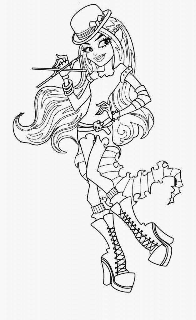 Desenhos Para Colorir Das Monster High Desenhos Para Colorir