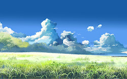 grass hd wallpapers anime landscape scenery plains fantasy nice landscapes backgrounds uny clouds fresh