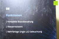 Funktionen: R4mpage RP-1100 Bluetooth Lautsprecher 10Watt mit LED Farbwechselmodus, und Mikrofon für Freisprechfunktion