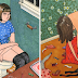 Artist Creates Honest 21 Illustrations Showing What Women Do When No One Is Watching