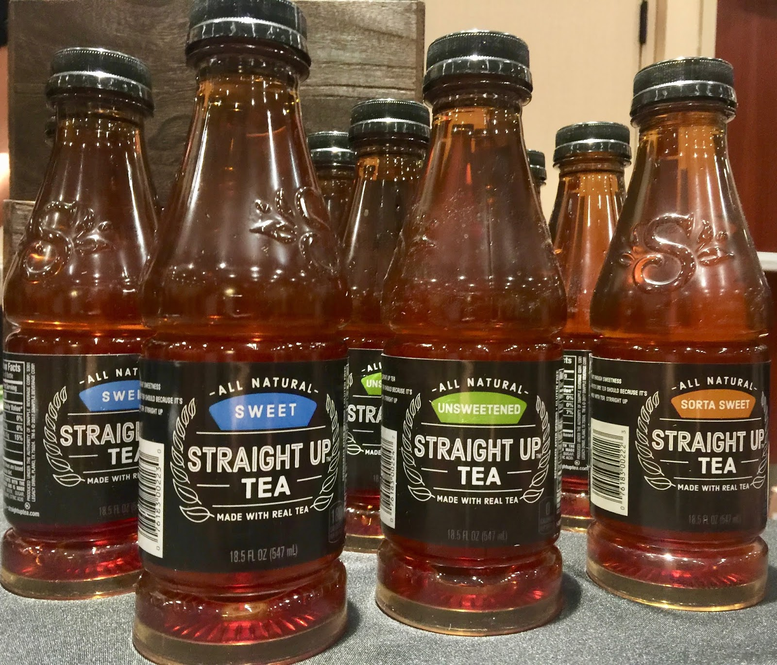 5109ecb16c8 STRAIGHT UP TEA-smartly labels the sweet level directly...sorta sweet