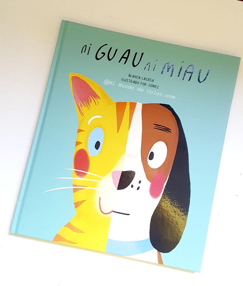 reseña libros infantiles bolino ni guau ni miau