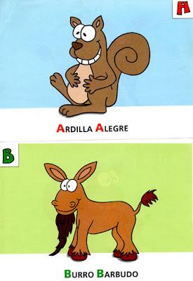 rimas de animales