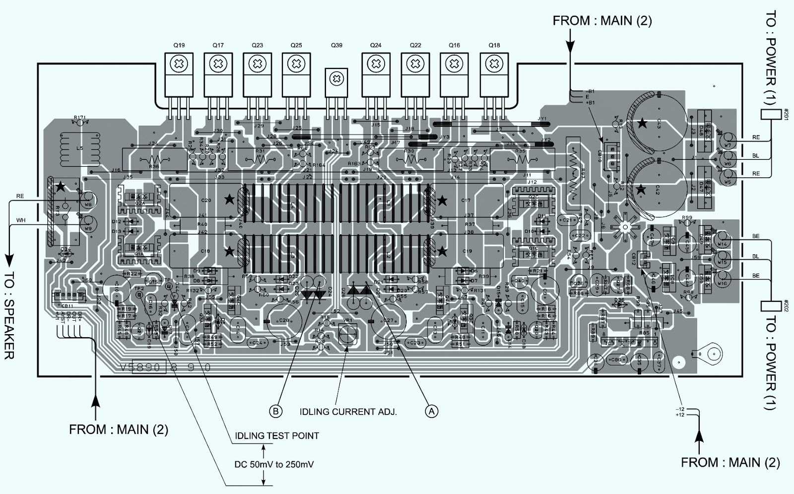 Electro help: YAMAHA - YST-SW800 - SUBWOOFER - AMP ...
