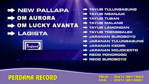 Sampul album Perdana Record