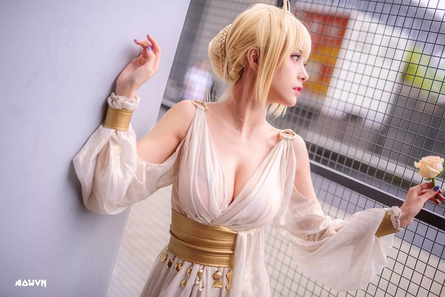 AowVN.org minz%2B%252818%2529 - [ Cosplay ] Nero - Saber anime Fate by Xia Mei Jiang tuyệt đẹp | AowVN Wallpapers