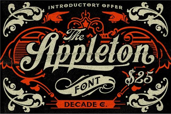 Kumpulan Font Vintage Dan Retro Gratis
