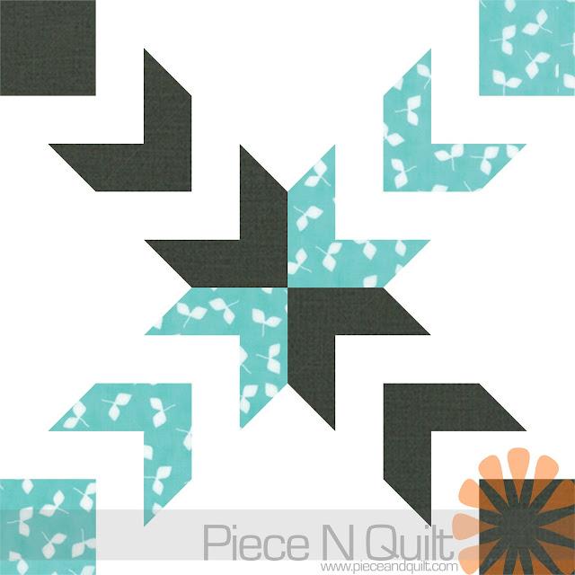 Piece N Quilt Spider Star Quilt Pattern The Battle