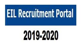EIL Recruitment 2019 - Apply online