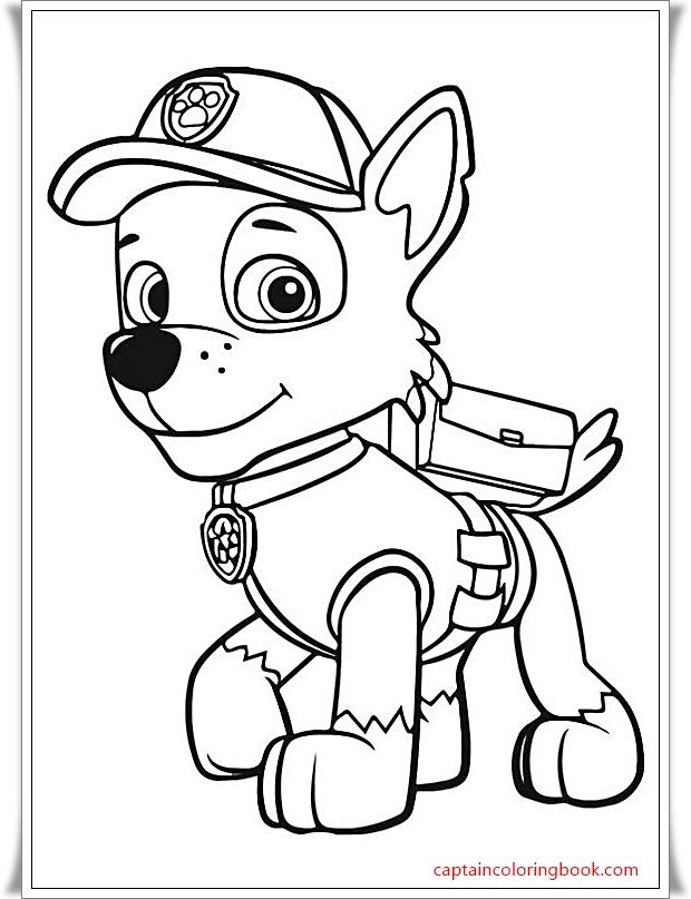 Ausmalbilder Paw Patrol - Coloring Page