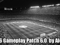 PES 2016 Alex Gameplay Patch 6.0