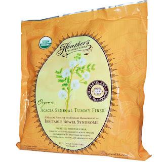 الاكاسيا العضوية لعلاج مشاكل البطن     Heather's Tummy Care, Organic Acacia Senegal Tummy Fiber, 16 oz (453 g)