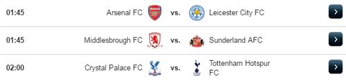 Jadwal Liga Inggris Kamis 27 April 2017