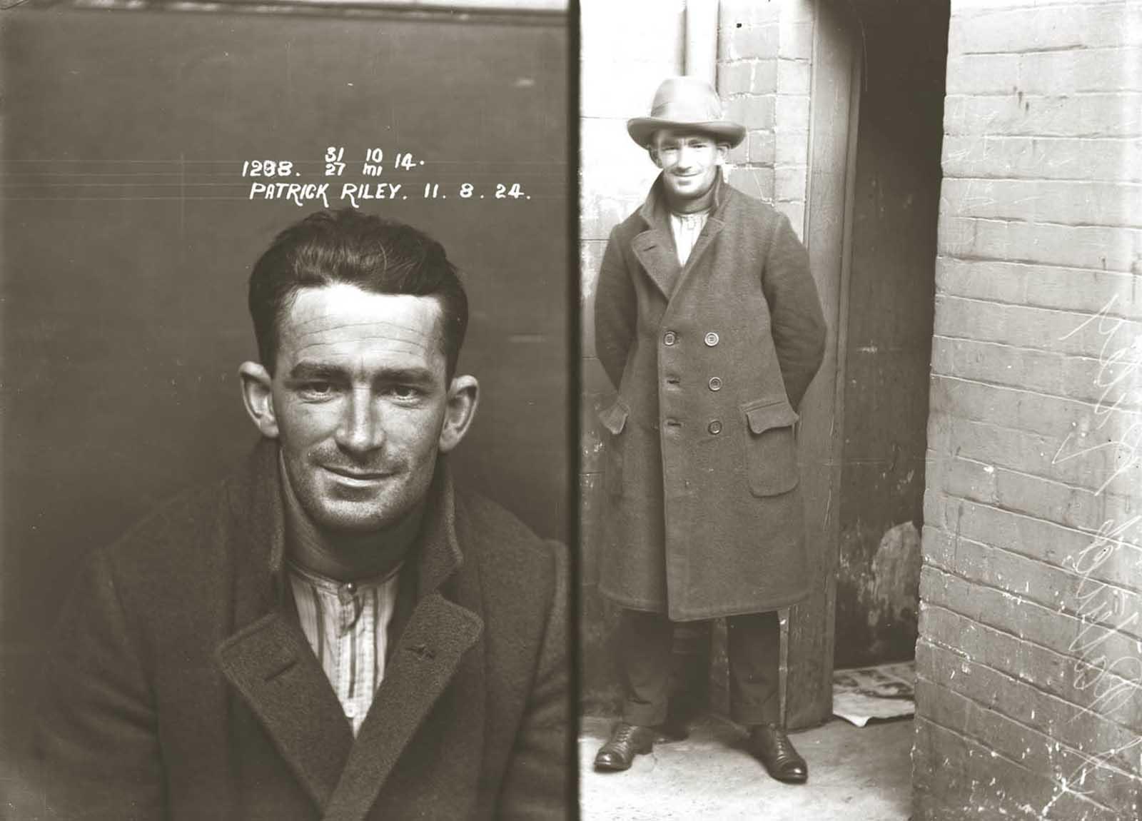 Patrick Riley. 1924.