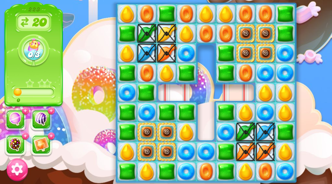 Candy Crush Jelly Saga 223