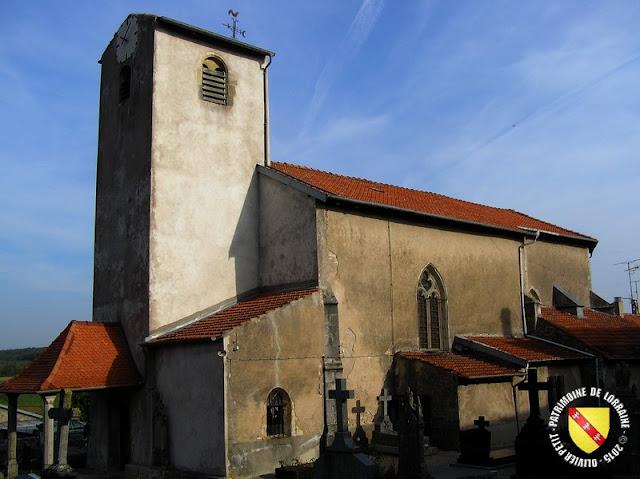 LEBEUVILLE (54) - Eglise Saint-Martin (XIIe-XVe siècle)