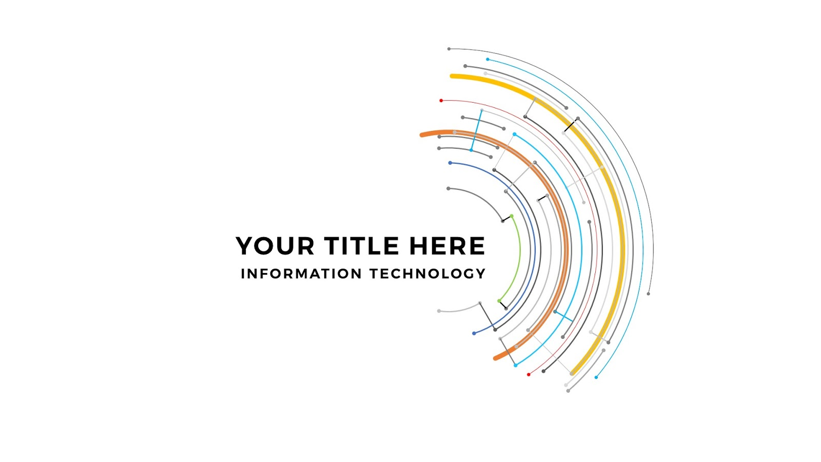 Technical Title And Backgrounds Free Powerpoint Template