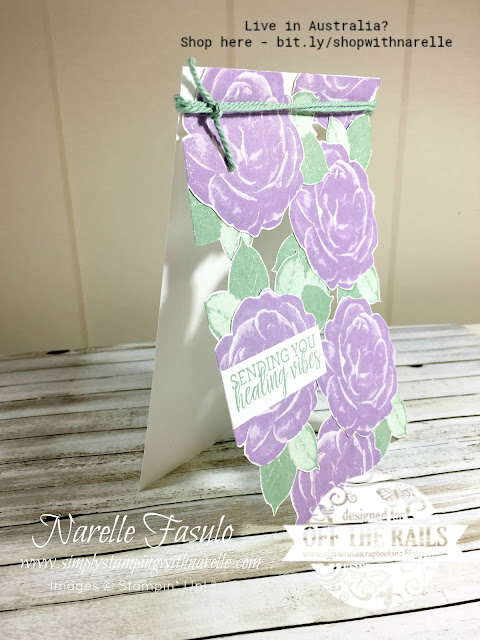 A fun new technique to learn using your stamps and die cuts - the look through card. Get all the supplies to make it here - http://bit.ly/shopwithnarelle