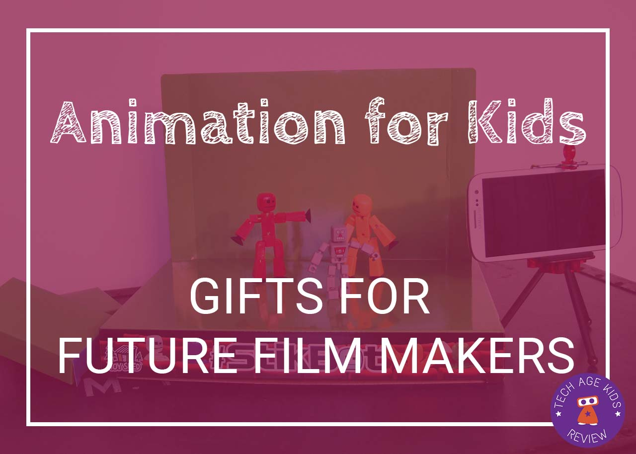 Animation for Kids: Gifts for Future Movie Makers