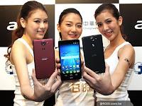 Acer Liquid X1, Ponsel Octa Core 4G LTE Berbasis KitKat Harga 4 Jutaan
