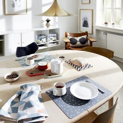 Desain Table Mat Unik