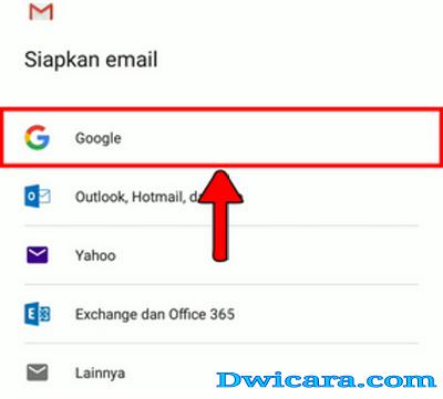 contoh buat email