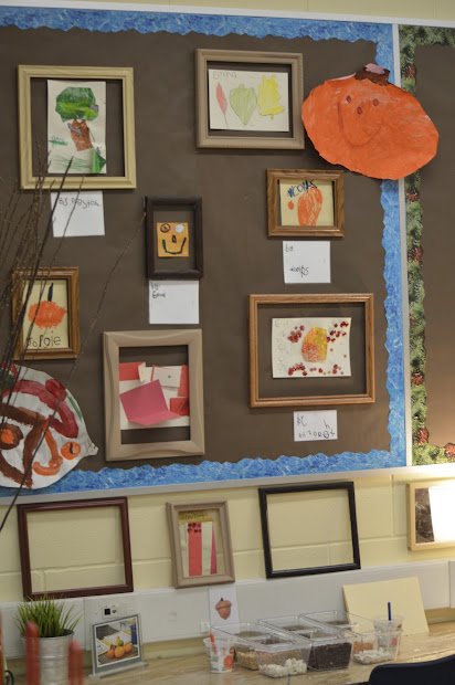 Kids Art Display Bulletin Board