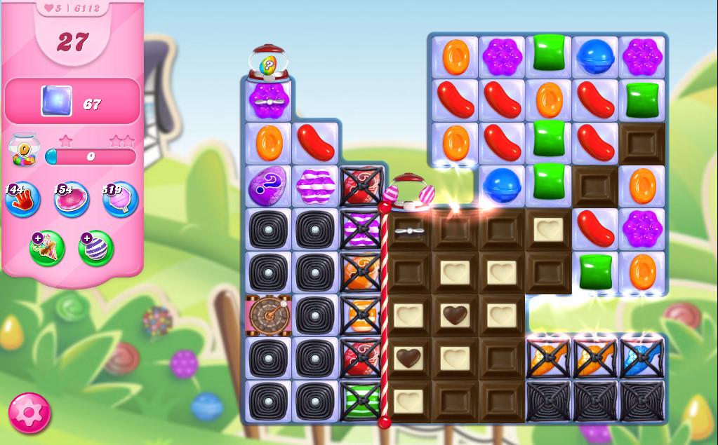 Candy Crush Saga level 6112
