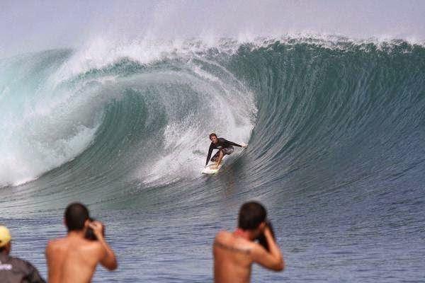 Beach Plengkung challenging