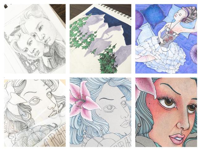 Sketchbook Round-Up: Volume 23 | Yeti Crafts