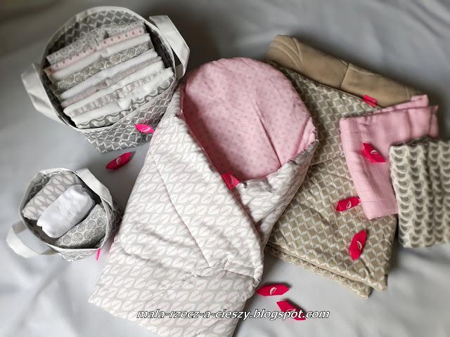 #2 Akcja wyprawka dla noworodka - Pieluszki i tekstylia Motherhood