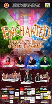 "PUP BSBA-MM's 4Dimensional Productions presents ""ENCHANTED: Unlocking the Realms of Senses in Marketing"""
