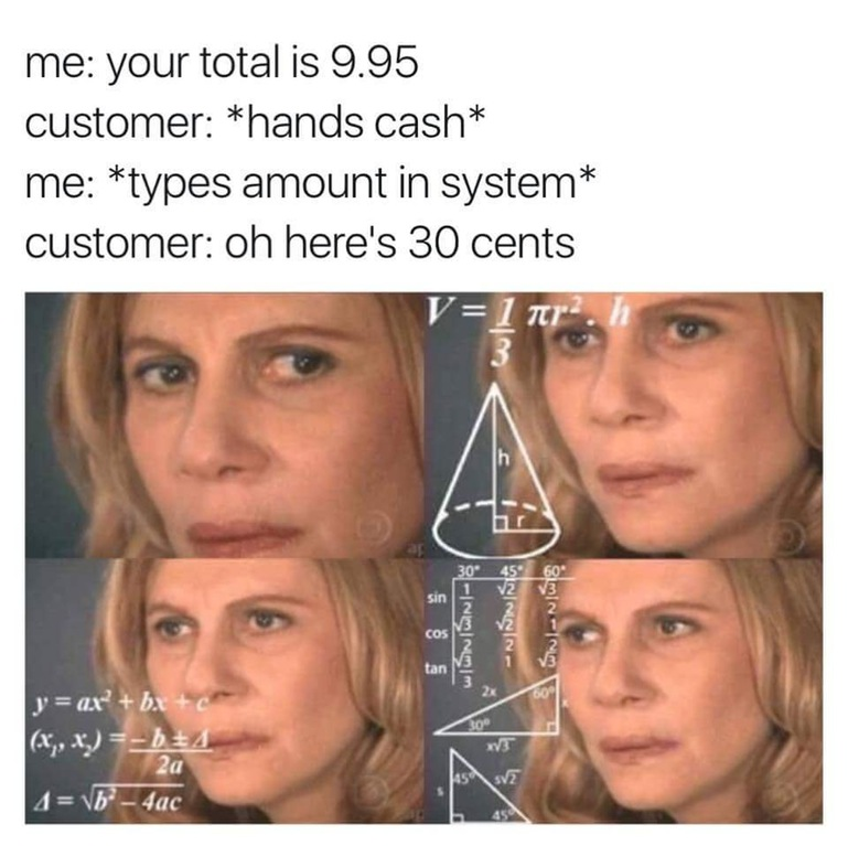 Oh, here's 30 cents