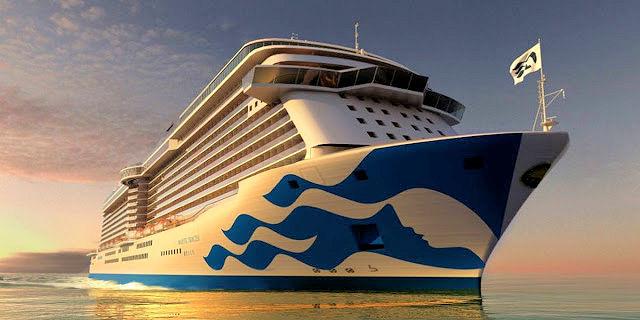 Das neueste Schiff Majestic Princess (C) Princess Cruises
