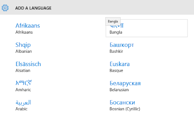 change language windows 10